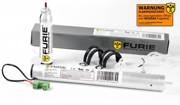 Furie 6 - Tränengas-Sprühsystem für KFZ, Wohnmobil uvm.